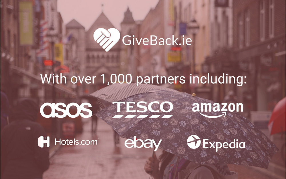 Our Partners  -  We have partnered with over 1000 of the world's largest online retailers including Amazon, ASOS and Hotels.com.   From flights to car insurance, every purchase you make can help make a difference. We're constantly growing our network of supported retailers so please check back soon for a full directory.