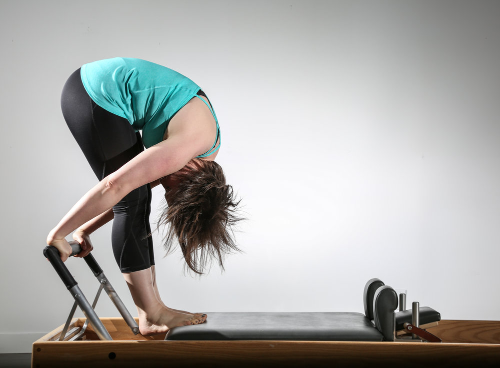 Tendon Stretch on the Reformer.