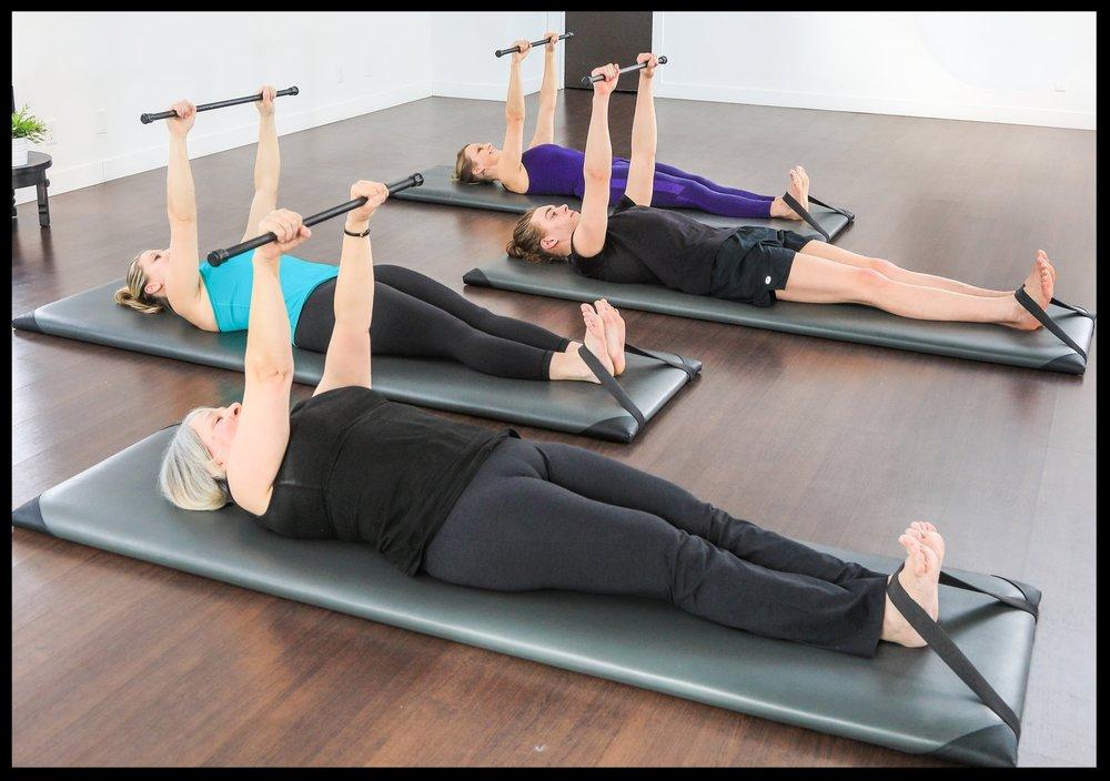 Those flexed feet keep instructors happy!