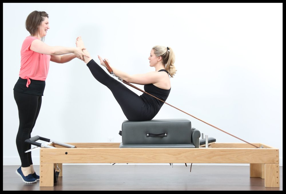 Teaser using the Long Box on the Reformer.