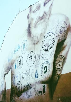 Mural in Logroño