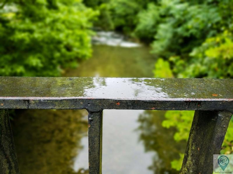 Rainy day along the Urola River - near Azkoitia.