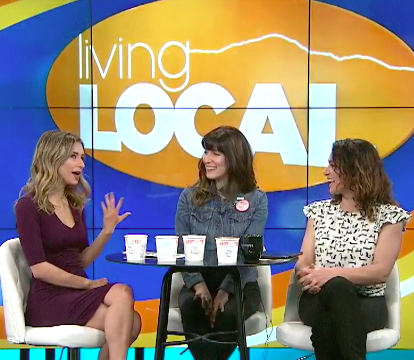 Living Local - Best One Yet hits the small screen! Mia and Maria of Living Local ask us about making vegan ice cream and riding the Vegan Vespa.