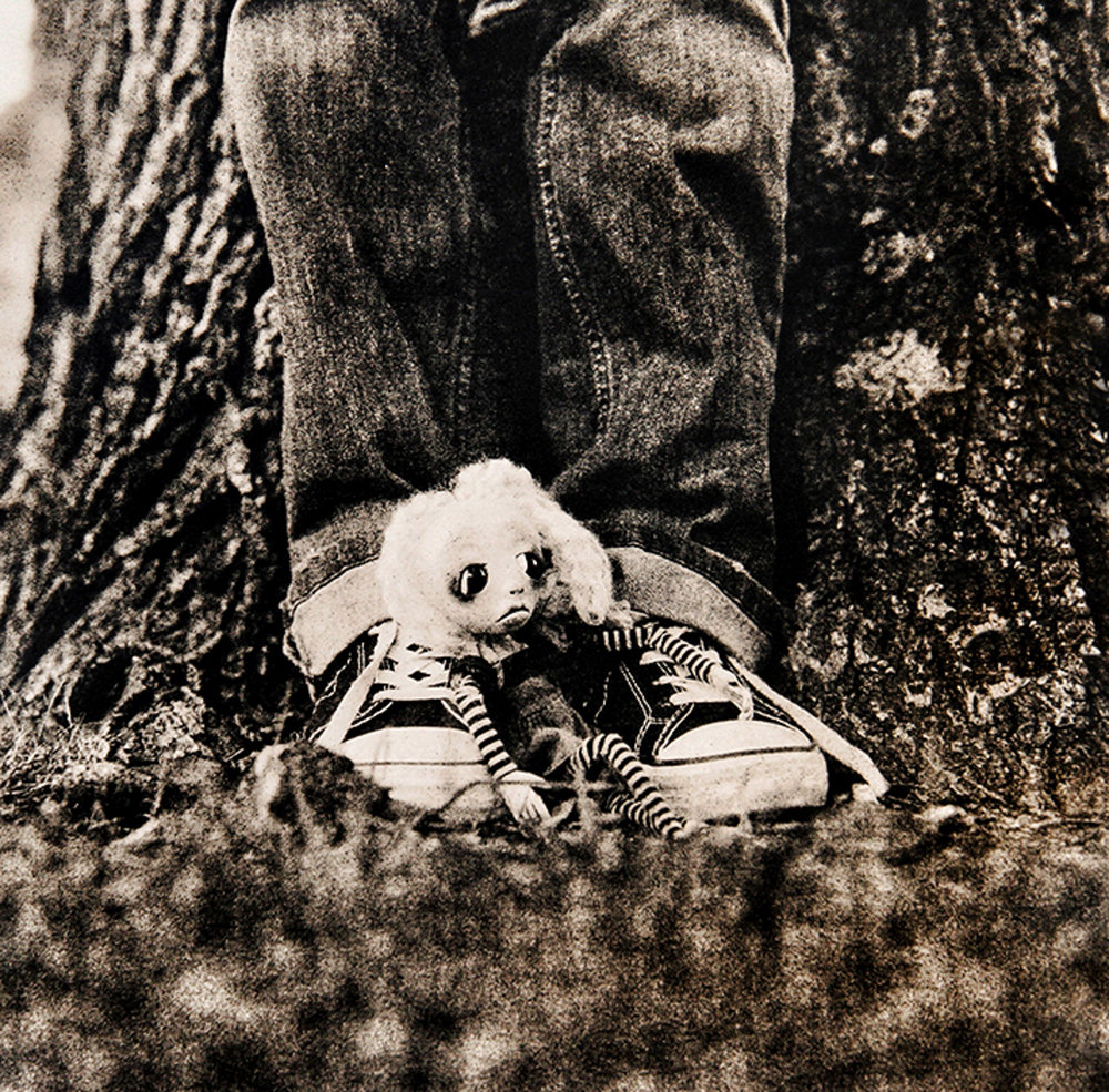 "©KatarzynaDerda     series ""If Only"" ,    photograph #1, lith print    Chicago 2009 , unique, edition of 1"