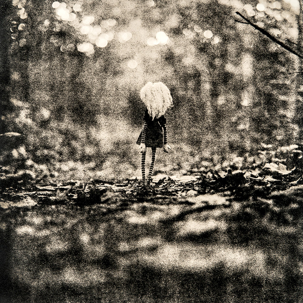 "©KatarzynaDerda     series ""If Only"" ,    photograph #9, lith print    Chicago 2009 , unique, edition of 1"