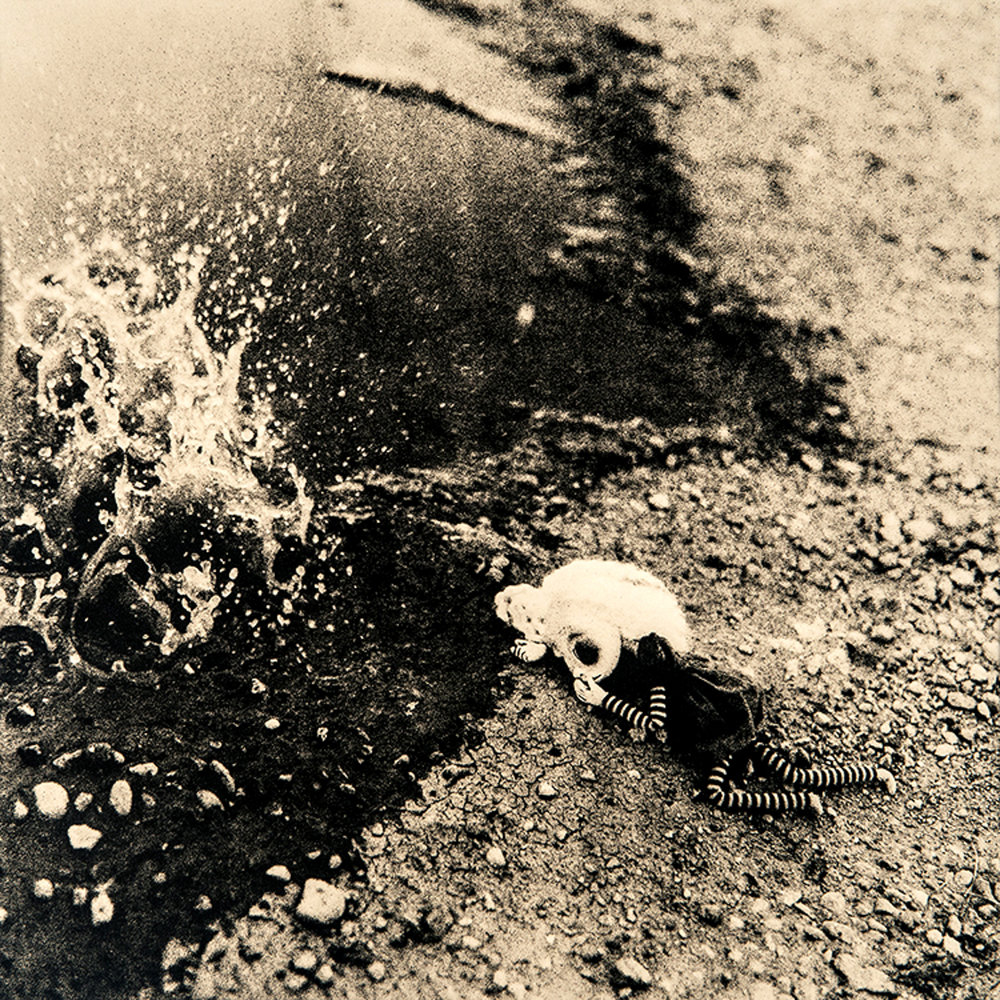 "©KatarzynaDerda     series ""If Only"" ,    photograph #7, lith print    Chicago 2009 , unique, edition of 1"