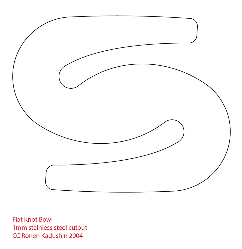 Kadushin-Flat Knot cutout 2004.jpg