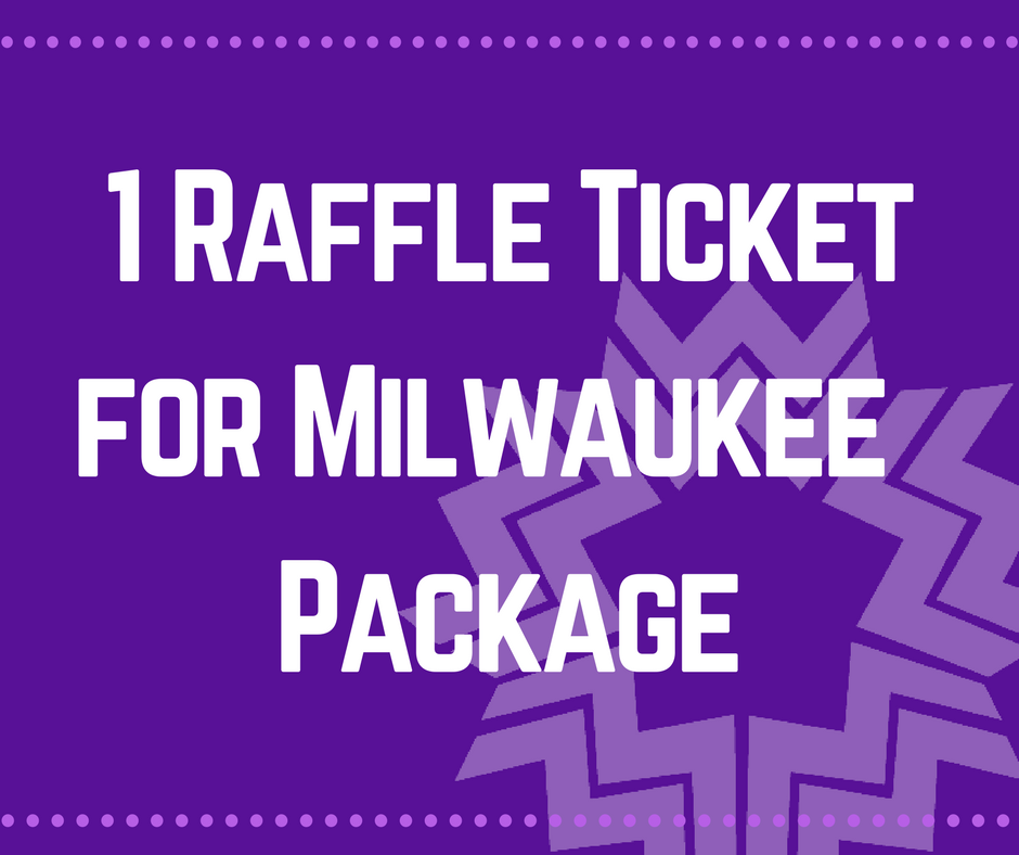 milwaukee raffle ticket single ticket wisconsin womens network
