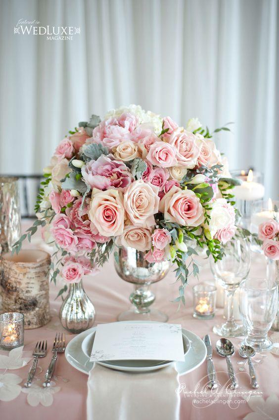 stunning wedding centerpiece anya storm photography flower roses wedding blogger