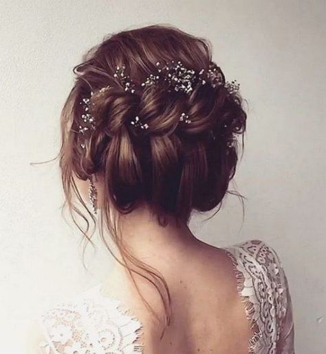 bridal hairstyle wedding blogger anya storm photography braided curly updo