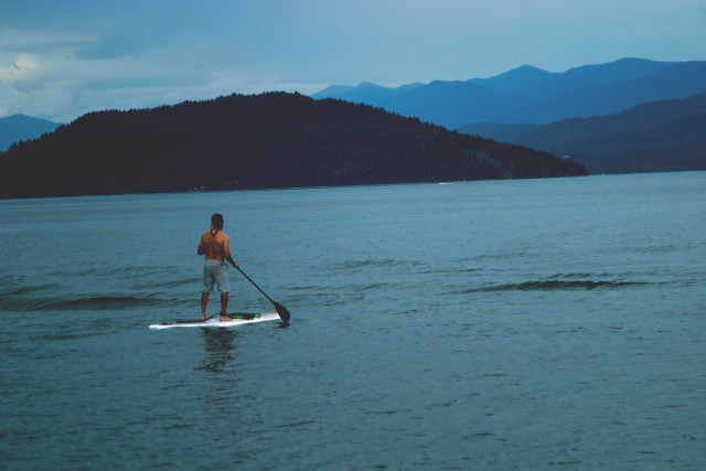 Obviously this is not from our session in NYC, but this guy is a perfect example of what SUP looks like!