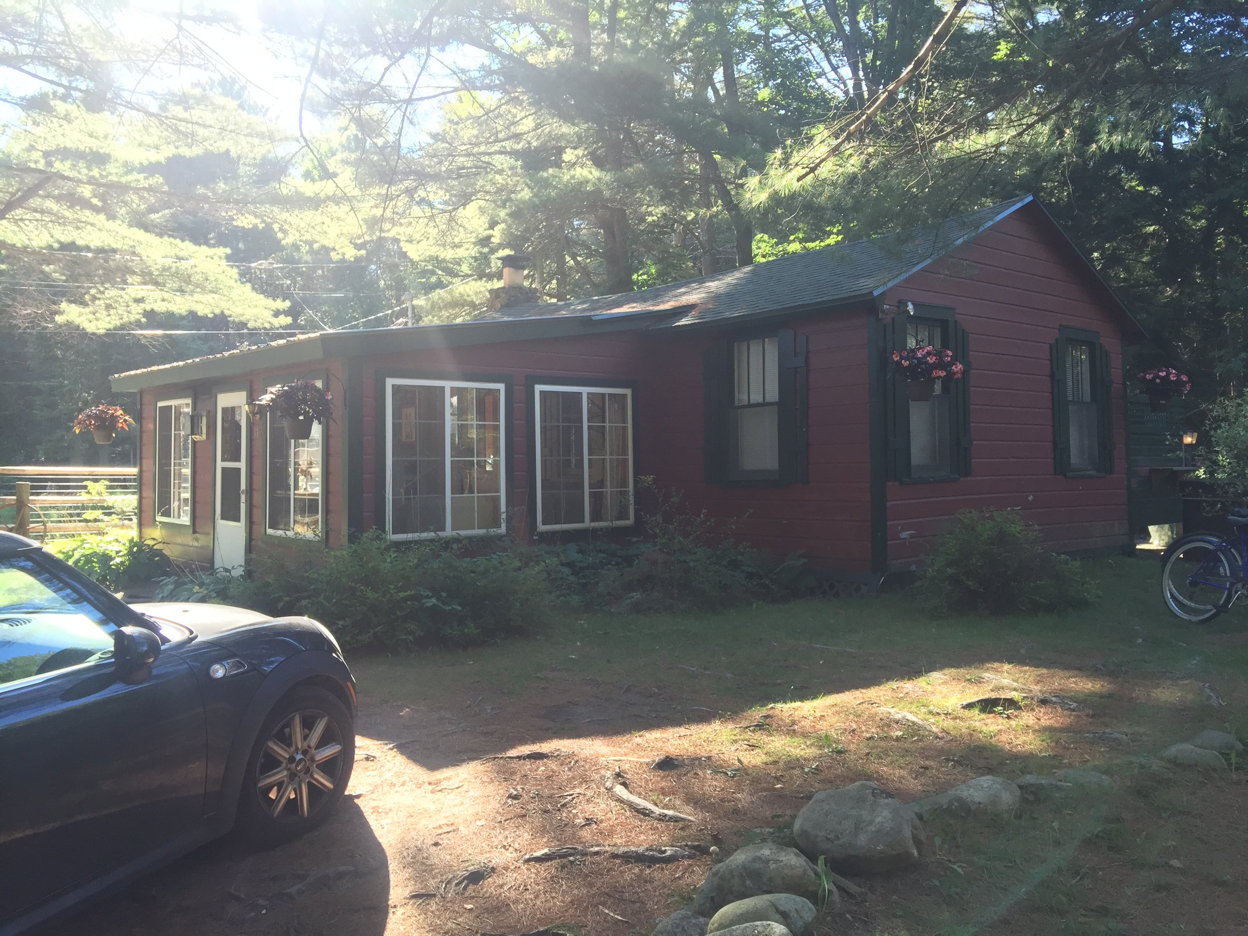 Our airbnb Adirondack Cottage