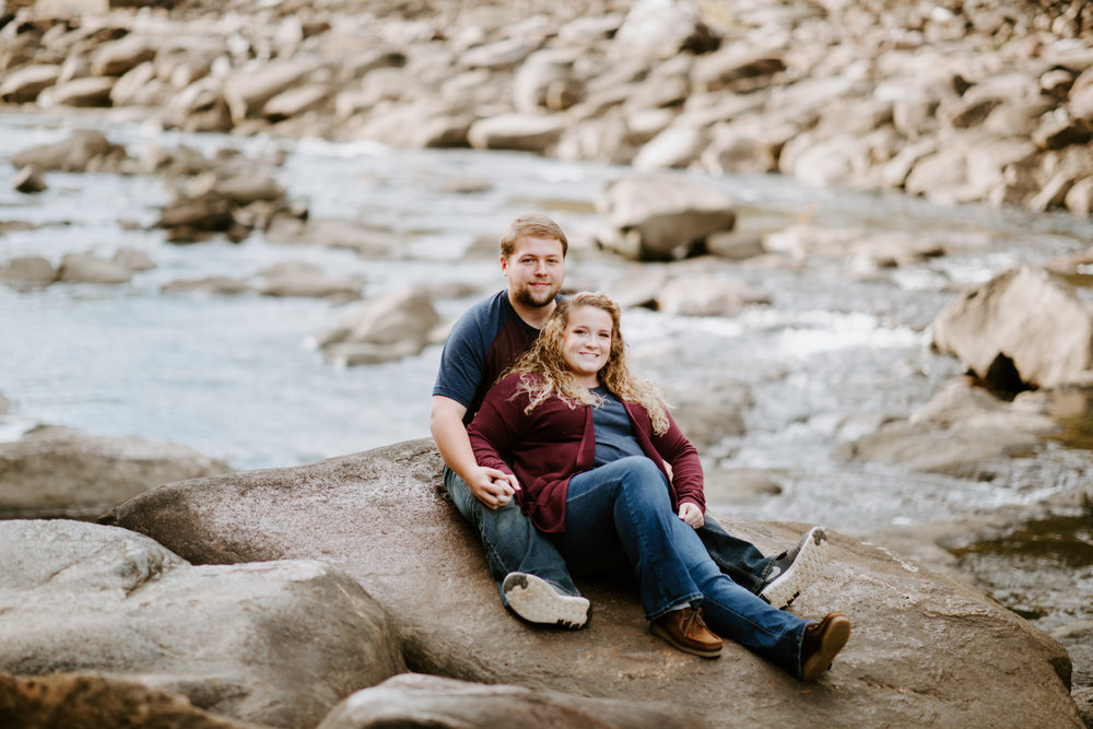 Kaitlin + Blake + Chattanooga + Tennessee + Engagement + Ocoee River + Wedding + Photographer-10.jpg