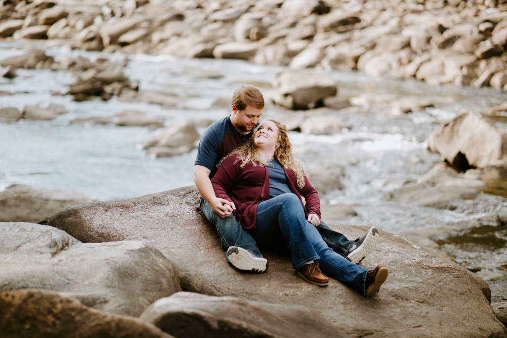 Kaitlin + Blake + Chattanooga + Tennessee + Engagement + Ocoee River + Wedding + Photographer-11.jpg