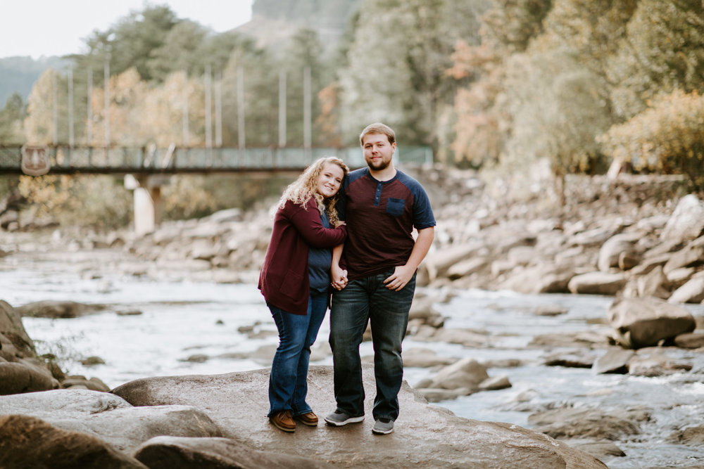 Kaitlin + Blake + Chattanooga + Tennessee + Engagement + Ocoee River + Wedding + Photographer-18.jpg