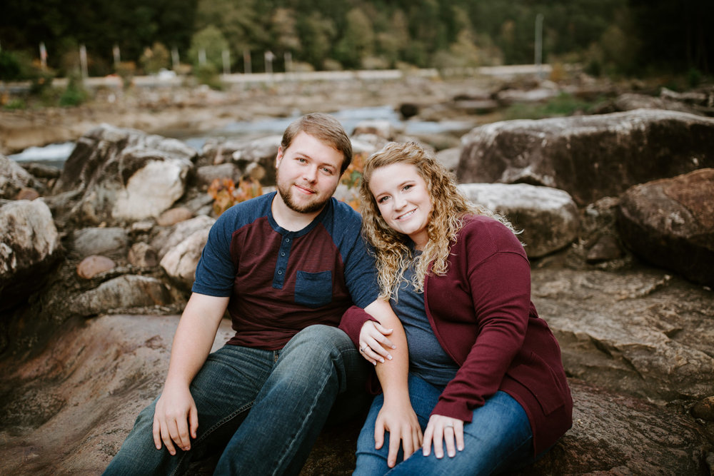 Kaitlin + Blake + Chattanooga + Tennessee + Engagement + Ocoee River + Wedding + Photographer-28.jpg