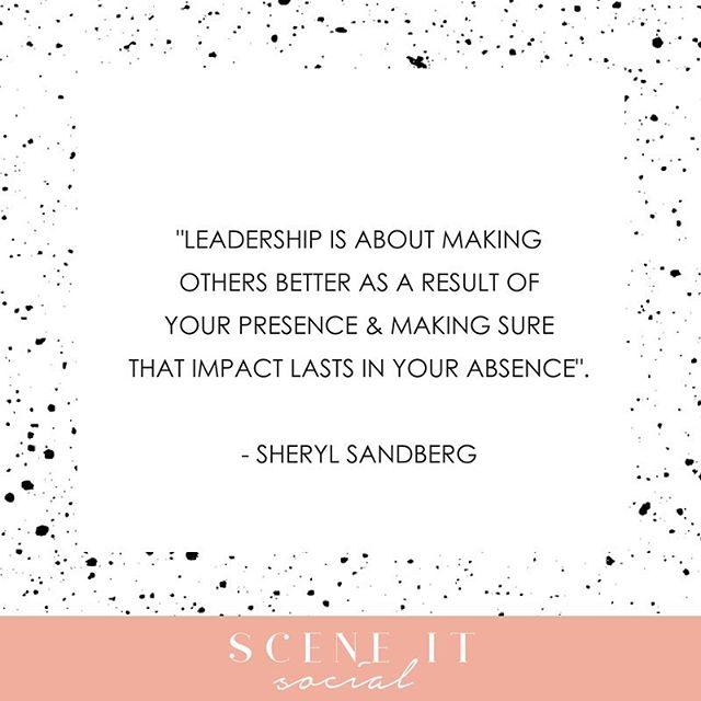 Words of wisdom this morning from @sherylsandberg 🙌🏼🙌🏼🙌🏼