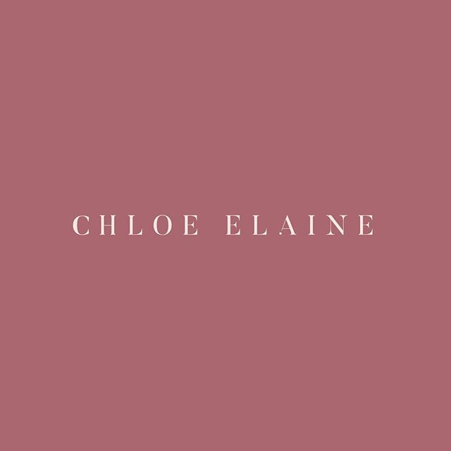 Less is always more. Some of our favourite projects are usually the ones we strip away all of the unnecessary and let the key design elements shine on their own 💫 Logo design + colour palette for @chloeelainejewellery