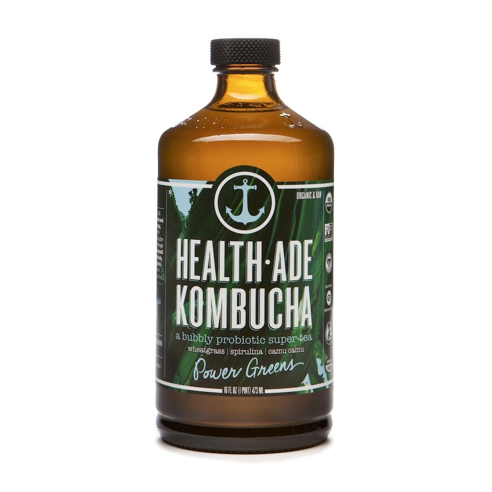 Health Ade Kombucha Power Greens