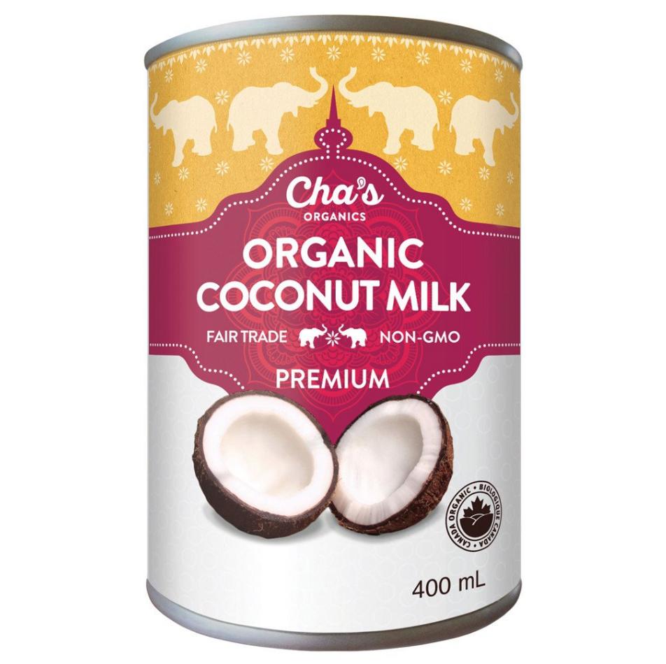 Cha's Organic Coconut Milk