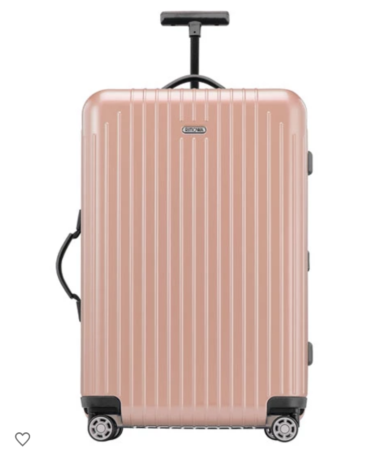 Pink Rimowa Luggage