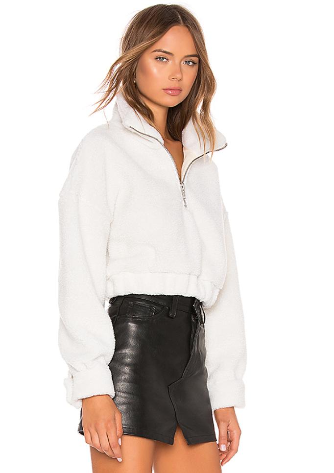 LPA Quarter Zip Sweater