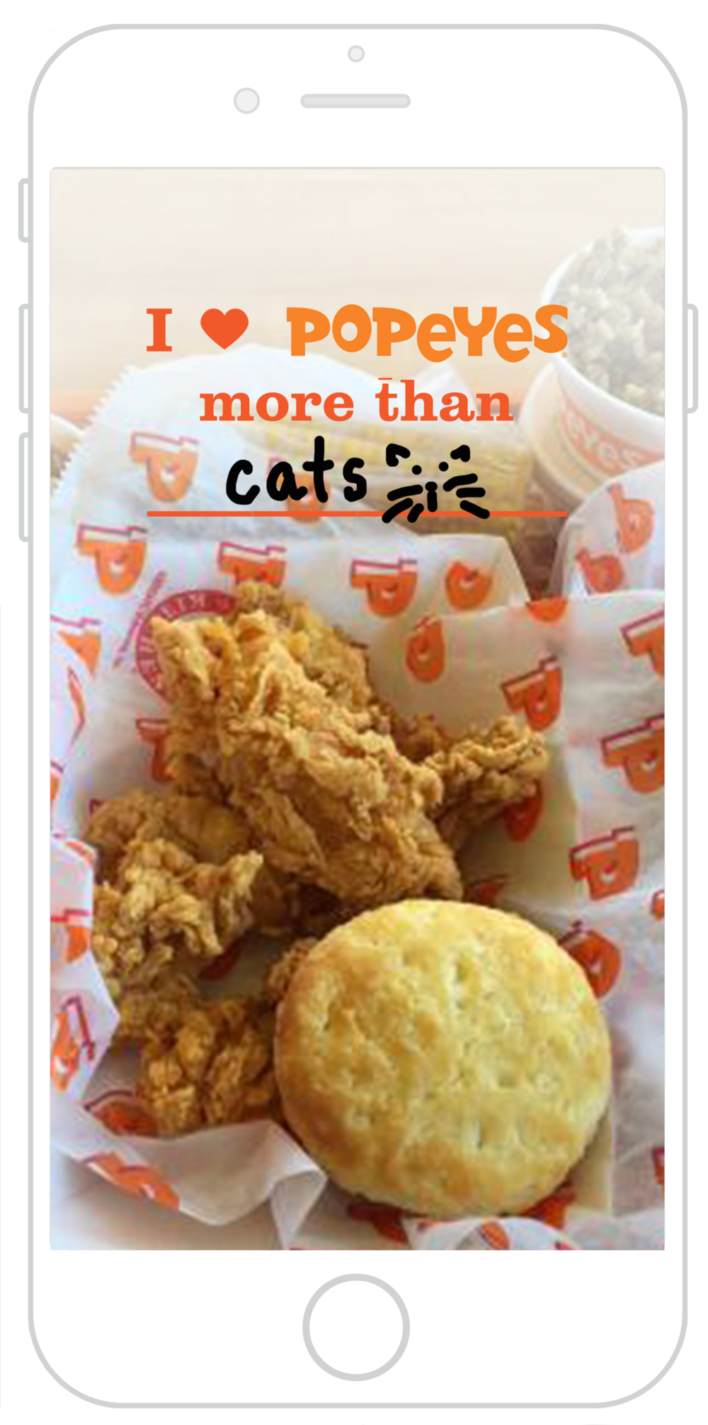 POPDIG17031_snapchat_iheartpopeyes_iphone_mock_cat.png