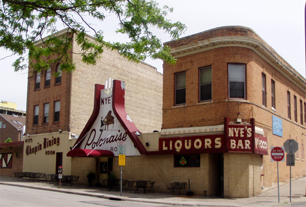 Nye's Polonaise Room (112 East Hennepin Avenue) Photo Courtesy of www.polishplate.com