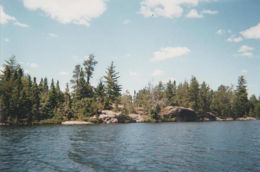 Image of the Boundary Waters Canoe Area during my 2001 trip