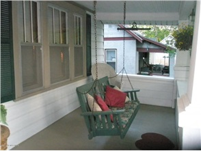 My full length open porch in Rochester, Minnesota