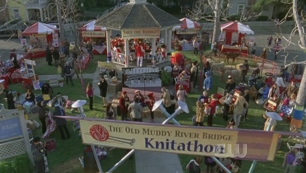 The fictional town square in the tv show the gilmore girls