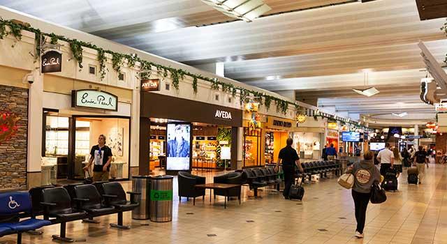 Shops at the Minneapolis-Saint Paul Airport (image courtesy of minneapolis-airport.com)