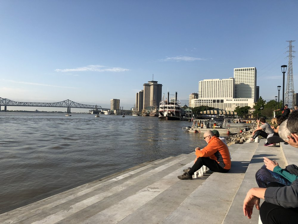 One of the better river parks for accessing the water