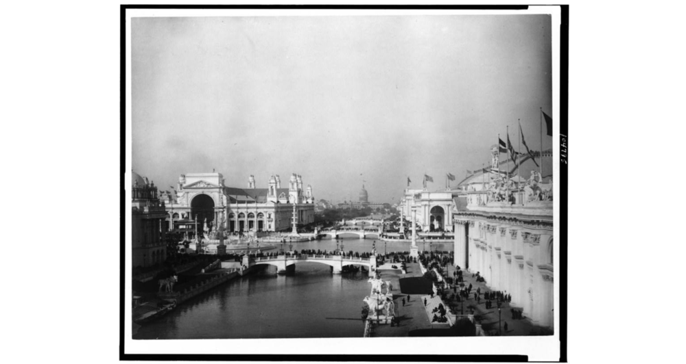 Grounds of the Columbia Exposition  (Image from the Library of Congress)