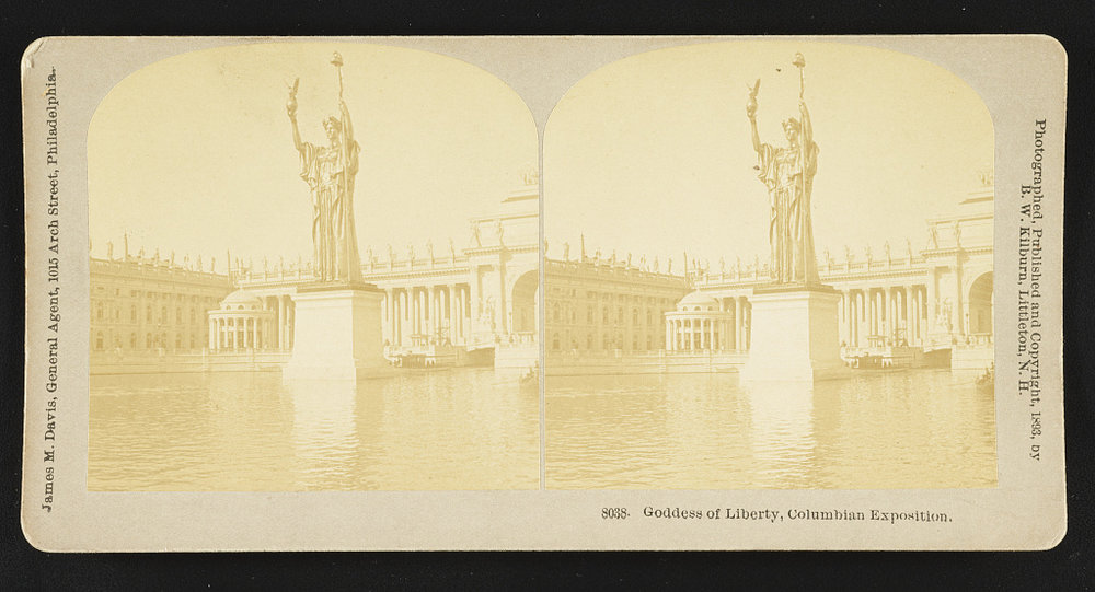Goddess of Liberty Statue  (Image from the Library of Congress)