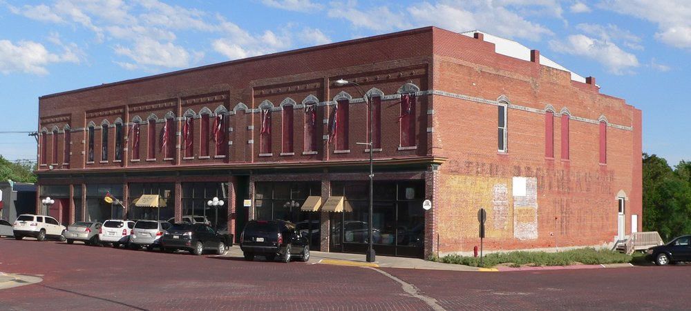 Warren Opera House in Friend, Nebraska. A small farming community that is working to revive their city through projects like the opera house restoration.