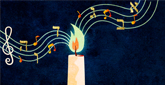 Looking for some Chanukah stories, inspiration and songs?    Find some here!