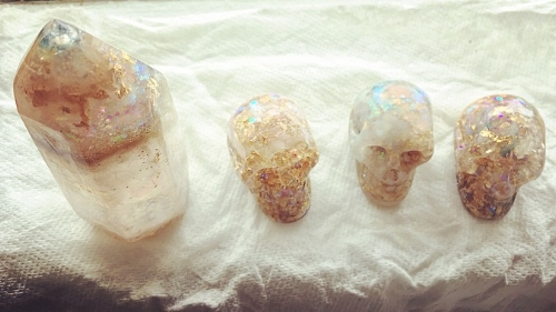 I've worked with crystal skull consciousness and energies since birth and can commune with all crystal skulls as I am a conscious, living Golden Skull and Galactic Wisdom Carrier...