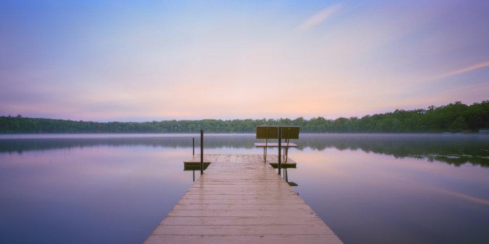 Lake Miniature Sunset