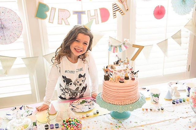 Love this little lady! I can't wait to share more Picts from her birthday party.