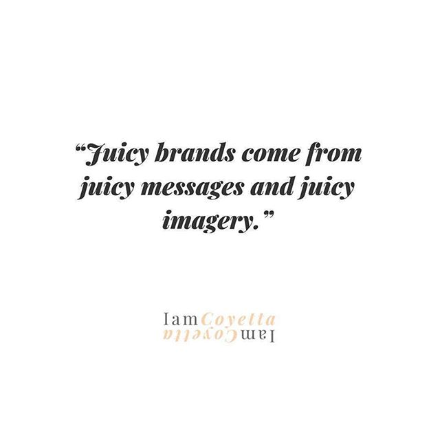 "#Repost @moniquebryan_co ・・・ Who said, ""Juicy Brands come from JUICY MESSAGING and JUICY IMAGERY?"" Well I guess I did! 😂 I love that @iamcoyetta pulled this quote from our chat on her Podcast. . In this episode we discuss the importance of curating the right message and imagery to get your brand noticed for the right reasons.  I also share some of the key mistakes I think Entrepreneurs are making today in building their personal brand. . Check out the episode LINK 🔗 in the bio . . BeingCocoaB is available on  Spotify, iTunes, SoundCloud, Google Play, Anchor, Patreon and on your favourite podcast platforms.Click the  link above to listen to the full episode! Listen, Subscribe, Review, Share✨ . .  #Repost @iamcoyetta ・・・"