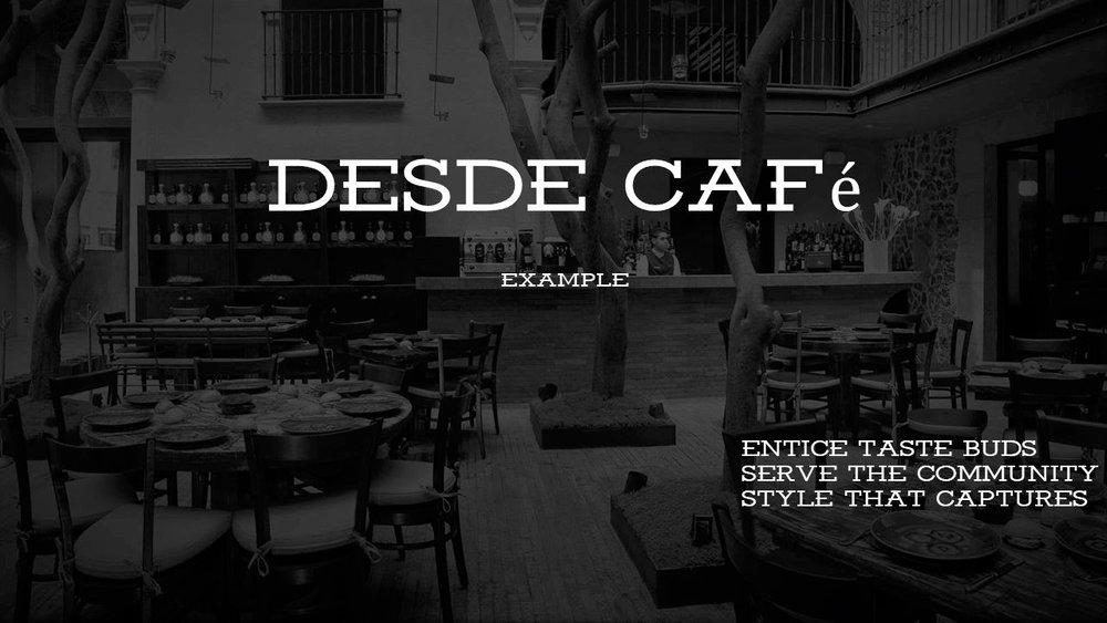DESDE Cafe