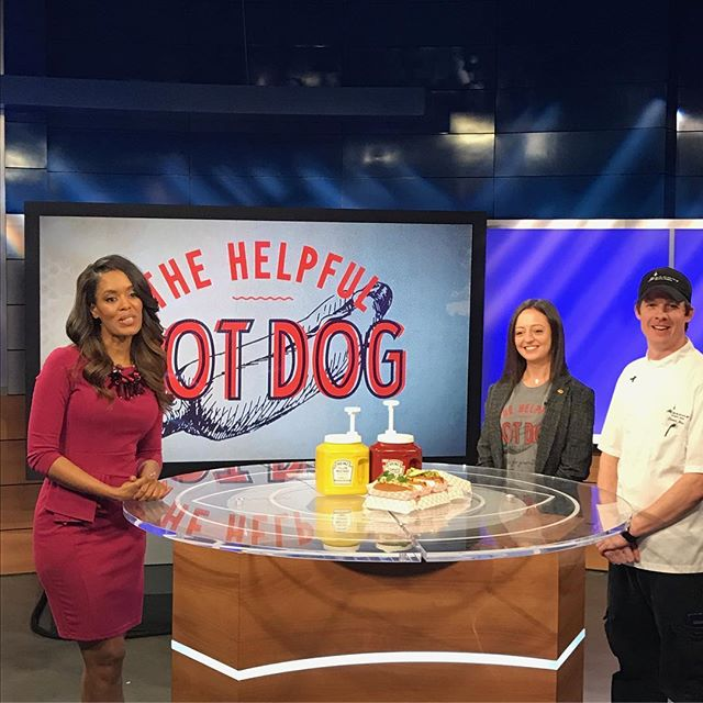Catch us on @atlantapluggedin talking about our hot dog initiative!! We'll see you tomorrow at noon sharp for our 2017 kick off! @poncecitymarket