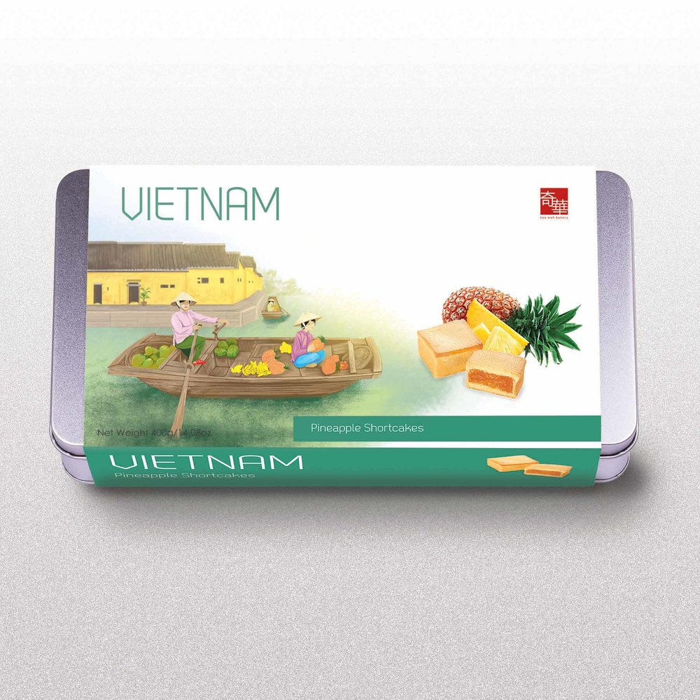 Vietnam Travel Cookie Box for DFS