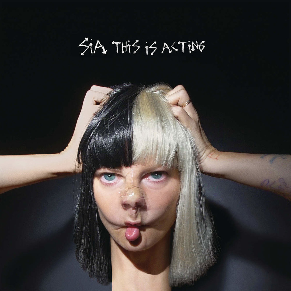 "SIA ""FOOTPRINTS"" THIS IS ACTING Co-Production, Guitar Prod. by T-MINUS"