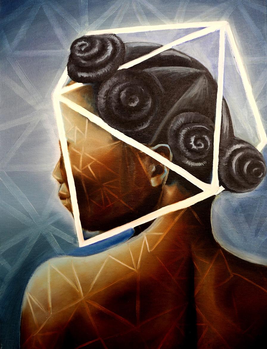 "Ayao  Oil on Canvas  24"" x 18""  2015"