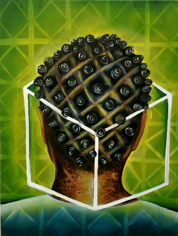 "Tenga  Oil on Canvas  24"" x 18""  2015"