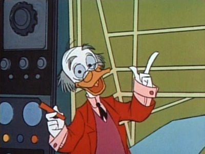 Ludwig von Drake! An eccentric Prussian duck and mercurial narrator…