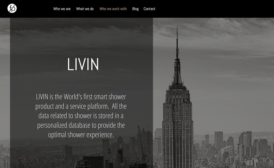 기술 스타트업에 투자하고, 이들의 성장을 지원하는 벤처빌더 회사인 퓨처플레이가 선택한 회사, 리빈이다.