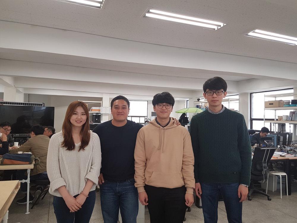 에이팀벤처스 대표 고산님과 KE 기자들